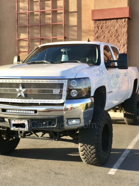 2008 Custom Chevrolet 2500HD LTZ For Sale (Duramax ...