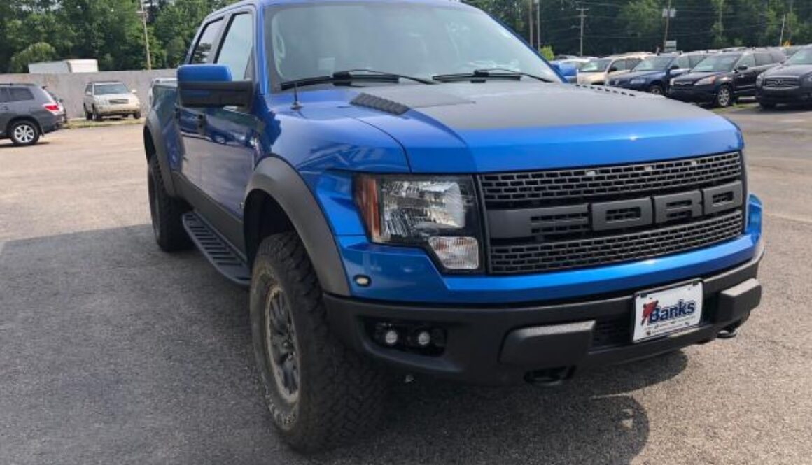 Ford Raptor at a discount price