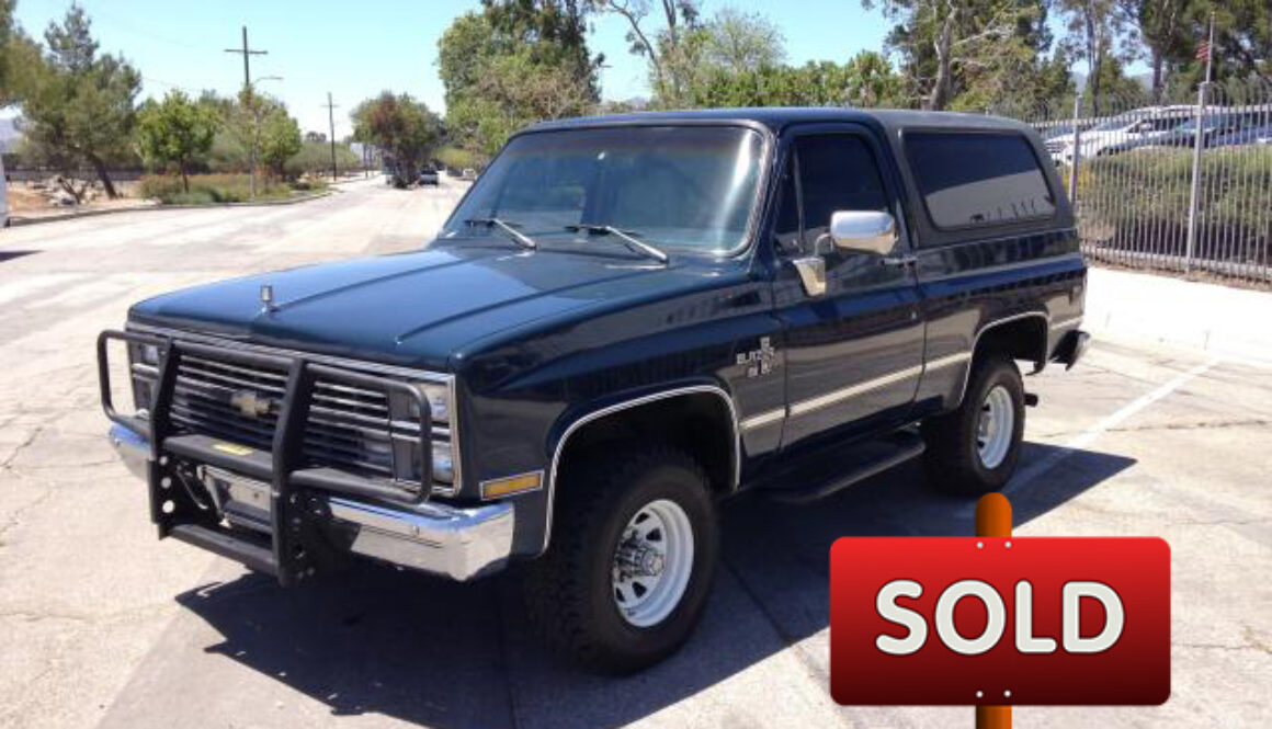 6.5 Diesel Blazer For Sale