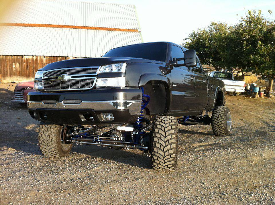 Chevy Duramax Lifted